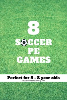 Soccer drills for kids: 8 fun games - Soccer Source Coaching Soccer Games For Kids, Physical Activities For Kids, Pe Activities, Soccer Pro, Soccer Coaching, Preschool Games, Soccer Training, Soccer Cleats, Soccer Ball