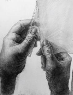 sketch / dessin / デッサン / 手 / hand
