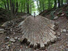 Making Sense of the Hills: Andy Goldsworthy at Cleveland Museum of Art - Collective Arts Network - CAN Journal Landscape Art, Landscape Architecture, Landscape Design, Abstract Sculpture, Sculpture Art, Metal Sculptures, Bronze Sculpture, Andy Goldsworthy Artworks, Environmental Sculpture