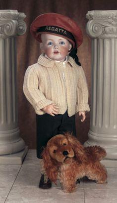 Best In Show: 127 Bisque Character Toddler Hilda by Kestner