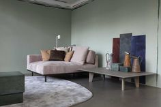 Piet Boon Styling by Karin Meyn | DON sofa element with the new YKE coffee table. Styling: Studio Piet Boon Styling & artist John Biesheuvel. Credits: Enrico Conti.