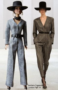 The jumpsuit is one of those trends that appeared discretely on the catwalks about a year ago. Slowly we're seeing more and more of them a...