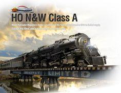 N&W Class A 2-6-6-4