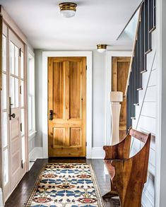 Fresh Farmhouse home - maison - decoration - deco - interior design - salon - appartement - apartment - flat - living room - house - design - bohemia - boheme - recup - upcycling - kitchen - bedroom - scandinavian - scandinave /