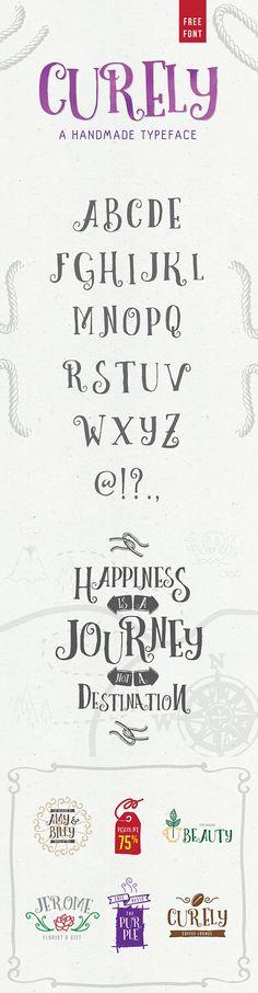Free Curely Handmade Decorative Font — Creativetacos