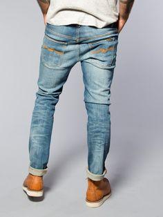 Thin Finn Organic Sang Bleu - Nudie Jeans Co Online Shop