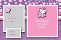 Baby Shower Hello Kitty Style
