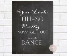 Oh So Pretty, Oh So Handsome Bathroom Signs, Set of 2, Chalkboard Print, Instant Download, Rustic Wedding Printable Sign by ThePaperWalrus on Etsy https://www.etsy.com/listing/194690938/oh-so-pretty-oh-so-handsome-bathroom