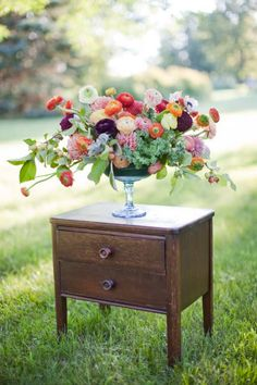 Dahlia & Ranunculus Heaven by Intertwine