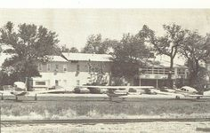 Historic Beaumont Hotel in Kansas, where planes taxi down main street to the hotel cafe.  One of the amenities listed is plane parking!  The Historic Beaumont Hotel, Beaumont, Kansas (620)843-2422