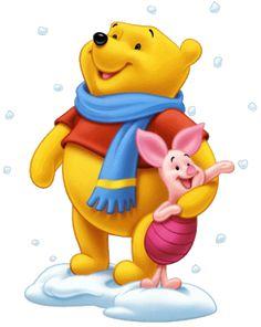 Micimackó / Winnie the Pooh Winnie The Pooh Pictures, Cute Winnie The Pooh, Winnie The Pooh Christmas, Winne The Pooh, Winnie The Pooh Quotes, Disney Christmas, Cute Disney, Walt Disney, Hello Kitty Imagenes