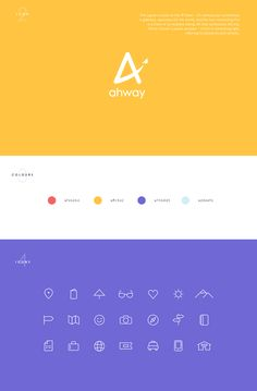 Ahway – traveling app, naming and branding on Behance