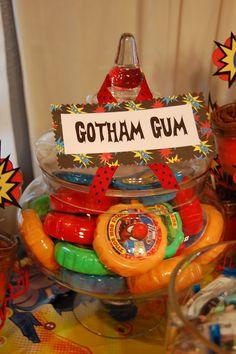 Gotham Gum: Superhero Party
