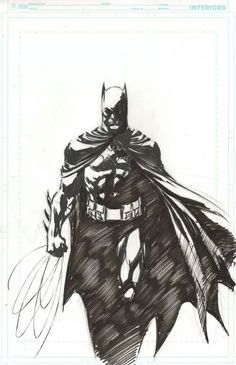 Batman by Ivan Reis This is awesome!