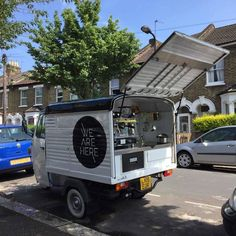 ape coffee cart uk