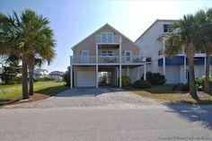 Ocean Isle Beach House Rentals: 10LEL - Canal House rental