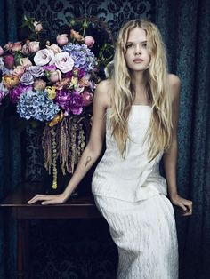 Vanity Fair February 2014 |  Gabriella Wilde photographed by Emma Summerton