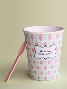 free printables for ice cream party