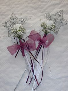 Flowergirl wand - very popular with the really young ones!