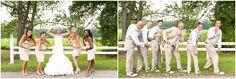 bridal party fun - wedding photography