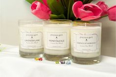 Luxury Soy Gemstone Candle - 30 Scents to Choose From