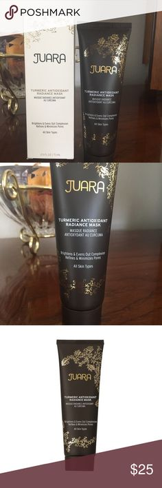 ‼️NIB‼️Juara Tumeric Antioxidant Radiance Mask Discover the proven antioxidant power of Tumeric to detoxify, brighten and bring life to stressed, tired, dull looking skin. A unique combination of Tumeric, Kaolin Clay, and Candlenut Oil leaves skin glowing. Juara Other