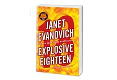 Explosive Eighteen by Janet Evanovich. I always like these lighthearted stories. I'm happy Stephanie Plum was a little less slutty in this one. I may be getting sick of the whole 'I can't decide between two men' thing. Book 19 is coming out this winter. How long is this going to go on? But still, a fun read.