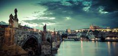 Puente de Carlos, en Praga