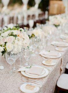 A Dreamy Napa Valley Wedding from Sylvie Gil Photography - outdoor wedding reception idea