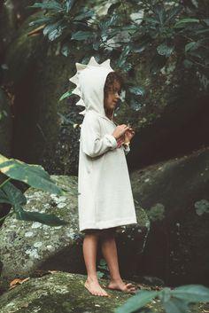 Vestido Moletom Jacaré