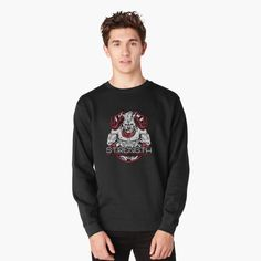 """Tomioka - The Water Pillar"" Lightweight Sweatshirt by simouser Pullover, Crew Neck Sweatshirt, Graphic Sweatshirt, Cat Sweatshirt, Disco Party, Wubba Lubba, Get Schwifty, Vintage T-shirts, Grumpy Cat"