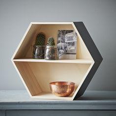 Hexagon Display Shelf