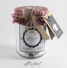A handmade body of cotton 100% and also a sweet jar of jam!   Get it at elfiefate.com