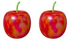 Pearl Apple / Cross Eye / #Fruit #Food