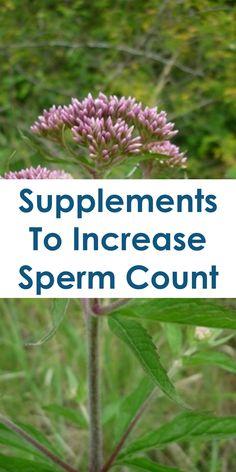 Sperm grade increasing
