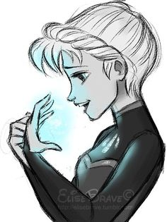 Elsa from Disney's Frozen - It's time to see what I can do.