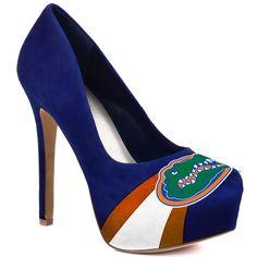 HERSTAR™ Women's University of Florida Gators Suede Pumps (gators, NCAA, UF Gators, university of florida) | NCAA Shoes | HERSTAR