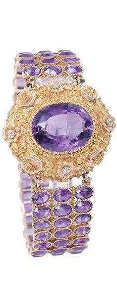 Gorgeous Amethyst Bracelet