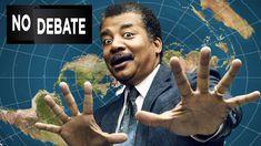 Neil deGrasse Tyson Advises Media NOT to Debate FLAT EARTH