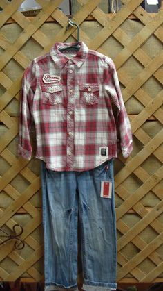 Pair with one of our sets of cowboy boots and you've got one handsome little man!