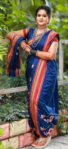Nose Ring Jewelry, Marathi Bride, Indian Beauty Saree, Asian Beauty, Desi, Beautiful Women, Culture, Woman, Wedding