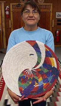 """The Navajo culture enraptures me, because it is constantly moving, ever evolving. I often hear the term, """"A tradition of Native American Baskets, Native American Art, Rope Basket, Basket Weaving, Pine Needle Baskets, Woven Baskets, Weaving Art, Hand Weaving, Navajo Culture"""