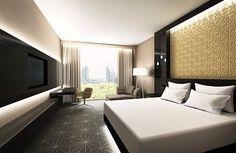 Hotellissa on 202 huonetta.