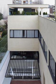 la roche jeanneret house 1923 24 at le corbusier pinterest house. Black Bedroom Furniture Sets. Home Design Ideas