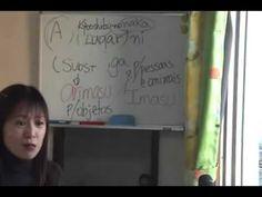 Curso de Japonês - Aula 09 - Satomi Sensei
