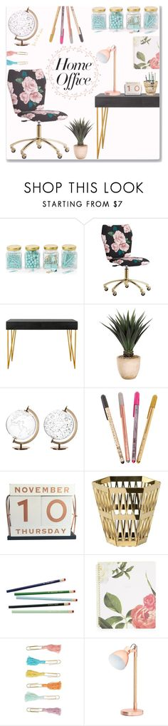 """""""Work from home kinda day"""" by sophasaurus ❤ liked on Polyvore featuring interior, interiors, interior design, home, home decor, interior decorating, Argento SC, PBteen, Safavieh and Frontgate"""