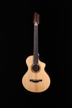 Guitare de Tomy Deschênes, finissant 2016, École nationale de lutherie