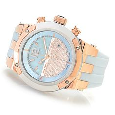632-679 - MULCO Women s Blue Marine Swiss Quartz Chronograph Stainless  Steel Silicone Strap Watch ab809387bd