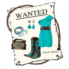 Love this. To bad I only go places I get dirty.. love turquoise jewelry and turquoise embleished boots..