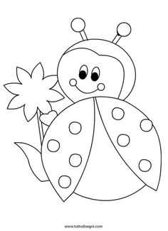 Marienkäfer 88 Tiere Malvorlagen zum ausdrucken Best Picture For applique patterns For Your Taste You are looking for something, and it is going to tell yo Bee Coloring Pages, Animal Coloring Pages, Coloring Books, Preschool Painting, Preschool Crafts, Applique Patterns, Quilt Patterns, Blouse Patterns, Drawing For Kids